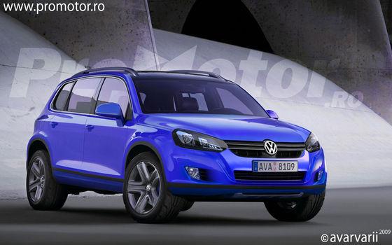 Futur Volkswagen Touareg : comme ça ?
