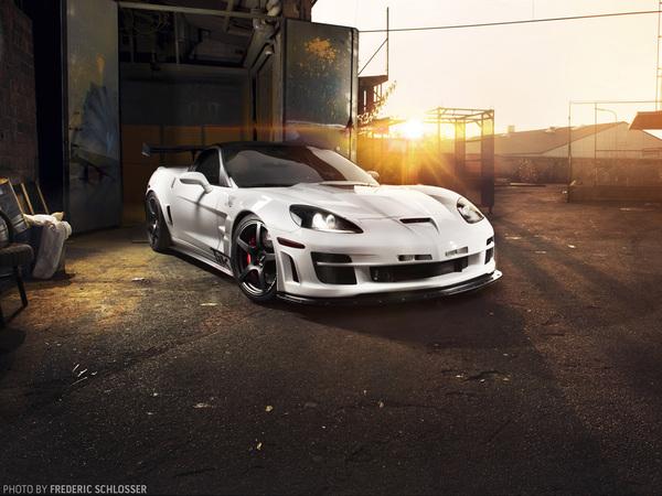 TIKT Chevrolet Corvette ZR1 : faire de l'excellent avec du bon