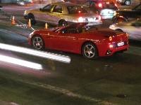 La nouvelle Ferrari California dans les rues de San Francisco