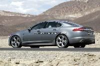 Future Jaguar XF-R au désert...