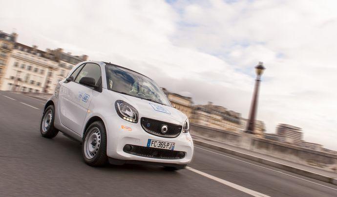 Autopartage: car2Go à Paris, c'est parti!