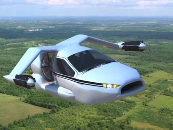 Terrafugia TF-X: la voiture volante de Monsieur tout le Monde ou presque