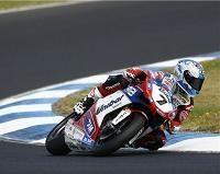 Superbike - Test Phillip Island D.1: Carlos Checa garde la tête et Leon Haslam se blesse
