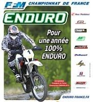 Championnat de France d'enduro : Les dates 2012