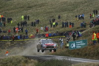 WRC-Grande-Bretagne, SS9: Loeb creuse l'écart, le titre est proche !