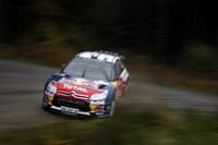 WRC-Grande-Bretagne, jour 2: Loeb a 30s d'avance sur Hirvonen !