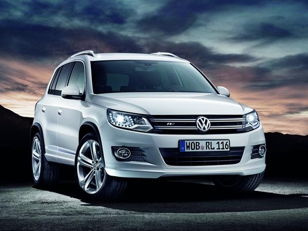 Volkswagen Tiguan pack R-line : touche de sportivité