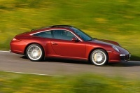 Restylage Porsche 911 Targa 4 et Targa 4S : officielles