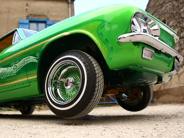 Le garage des monstres : un Low Rider made in France