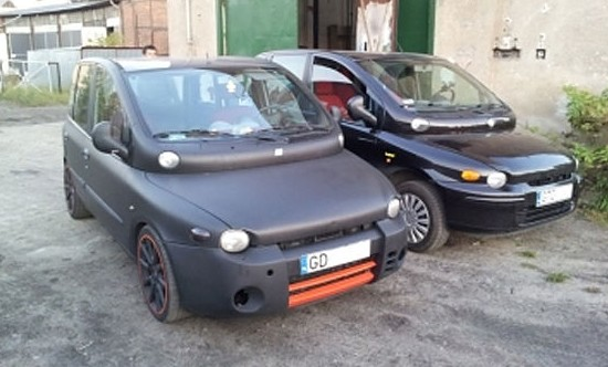 la prparation la plus improbable du moment un fiat multipla de 260 chevaux