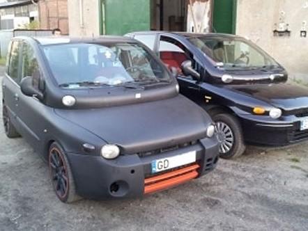 La préparation la plus improbable du moment : Un Fiat Multipla de 260 chevaux
