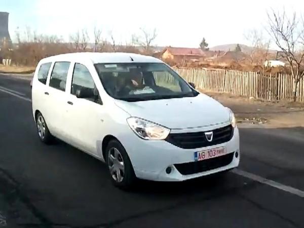 Surprise en vidéo : le Dacia Lodgy déjà en balade