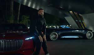 La Vision Mercedes-Maybach 6 Cabriolet star du dernier clip de Drake