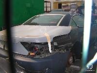 Maserati Gran Turismo Spyder: dans un drôle d'état avant le Mondial!
