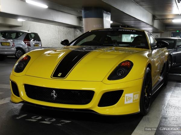 Photos du jour : Ferrari 599 GTO (Gumball)
