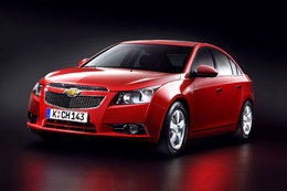 Chevrolet Cruze : officielle