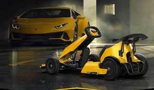 Le Xiaomi Ninebot GoKart Pro disponible en édition Lamborghini