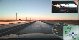 [Vidéo] La Cadillac CTS-V Hennessey accélère tellement fort qu'elle déclenche un appel au secours automatique