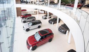 Jaguar Land Rover ouvre son nouveau magasin vitrine à Londres