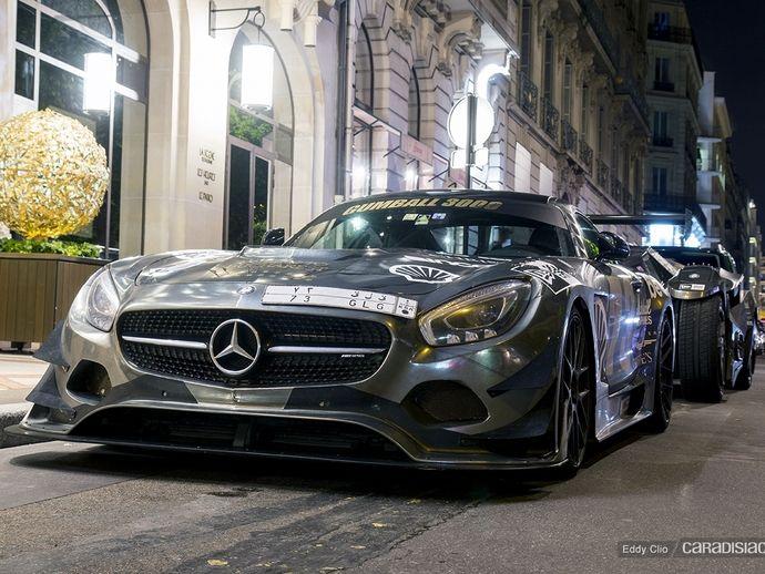 Photos du jour : Mercedes AMG GT (Gumball)