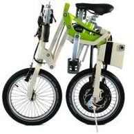 Un vélo pliant électrique signé Matra et Mobiky