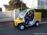 Des transports non polluants pour La Poste