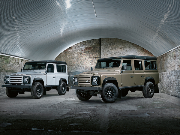 Land Rover Defender : une nouvelle série spéciale
