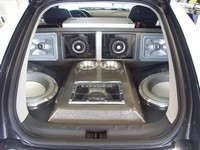 Chrysler CrossFire Vibe, un coffre plein comme un oeuf !