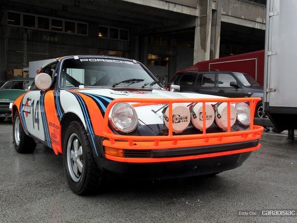 Photos du jour : Porsche 911 Safari (Retromobile)
