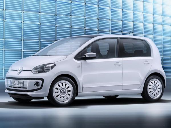 Voici la nouvelle VW Up! 5 portes