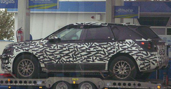 Futur Saab 9-4X de retour en test ?