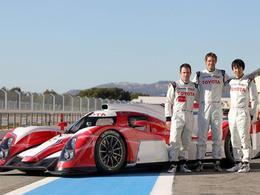 Regardez et écoutez la Toyota TS030 LMP1 hybride des prochaines 24h du Mans