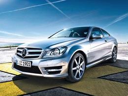 Nouvelle Mercedes Classe C Coupé: les 1ères images