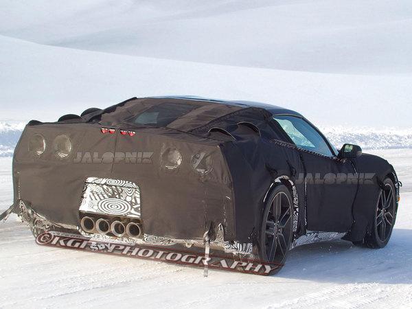 Surprise : la prochaine Corvette C7 se montre