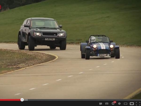 Vidéo - Bowler EXR S, plus rapide qu'une Caterham 7 Supersport sur circuit ?