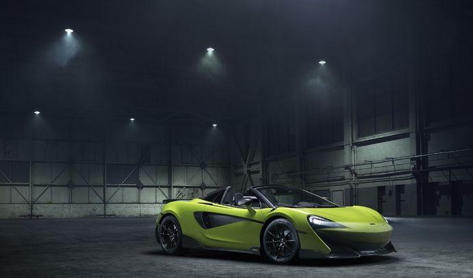 McLaren dévoile la 600 LT Spider