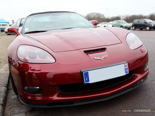 Photos du jour : Corvette C6 Grand Sport (Vincennes en Anciennes)
