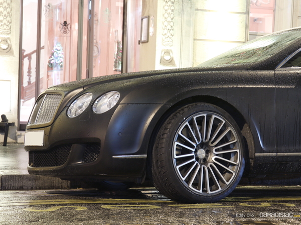 Photos du jour : Bentley Continental GT Speed