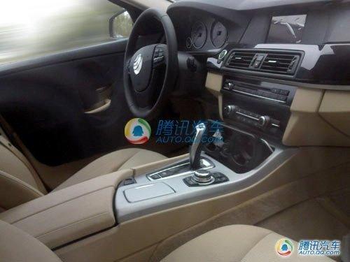 Future BMW Série 5 : l'intérieur encore plus clair
