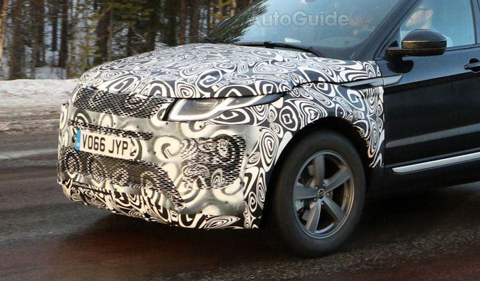 Le prochain Range Rover Evoque avec un trois cylindres hybride