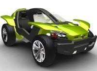 Un buggy qui voit la vie en vert : le Fiat Bugster Concept