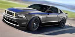 Un panel de Ford Mustang customisées pour le SEMA Show