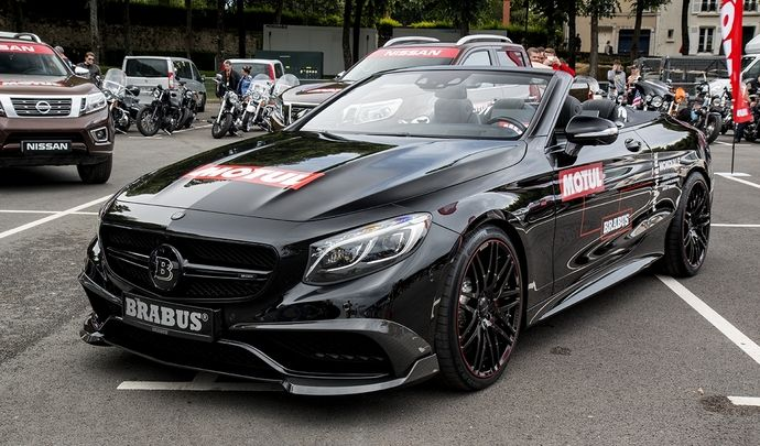 Photos du jour : Brabus 850 6.0 Biturbo Cabrio (Parade des Pilotes du Mans)