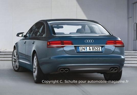 Nouvelle Audi A8 : de 4 à 12 cylindres
