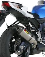 Akrapovic: silencieux pour Suzuki GSX-R 2011.