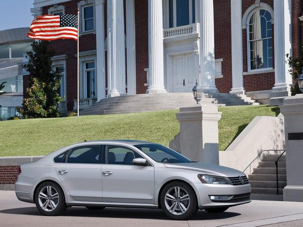 Detroit 2011 : nouvelle VW Passat pour les USA. Plus grosse forcément