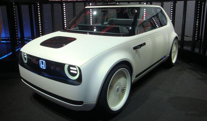 Honda : la première électrique Urban EV dévoilée à Francfort