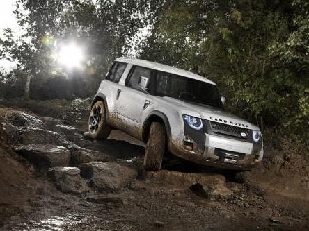 L'avenir de l'entrée de gamme Land Rover en pointillés