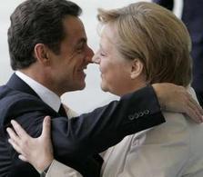 Sarkozy et Merkel s'accordent sur le CO2