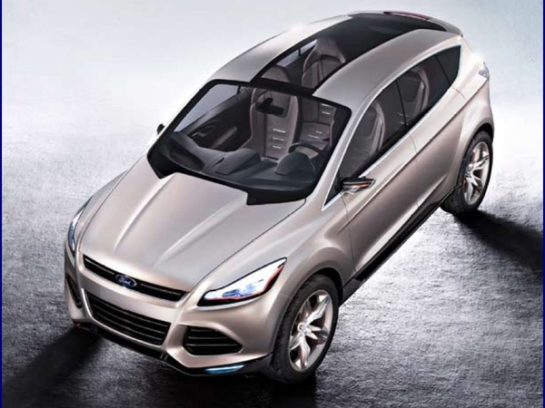 Détroit 2011 : Concept Ford Vertrek, l'avenir du Kuga ?